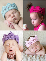 Crochet Baby Crown - Sydney So Sweet - Cute Clothes for Girls, Baby Boutique