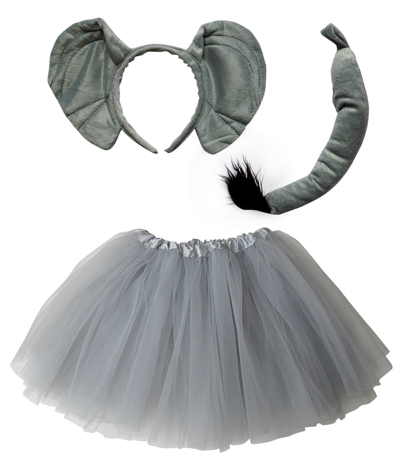 Adult, Plus or Extra Plus Size Elephant Tutu Costume - Sydney So Sweet