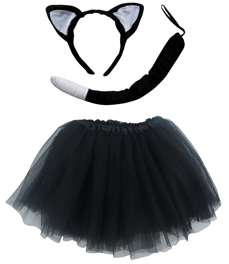 Adult, Plus, or Extra Plus Size Cat Tutu Costume - Sydney So Sweet