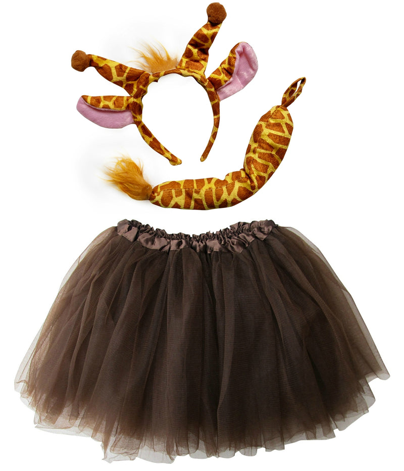 Adult or Plus Size Giraffe Tutu Costume - Sydney So Sweet Children's Boutique Cute Clothes for Girls & Baby Boutique