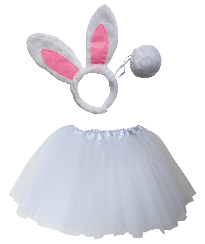 Adult or Plus Size Rabbit Tutu Costume - Sydney So Sweet Children's Boutique Cute Clothes for Girls & Baby Boutique