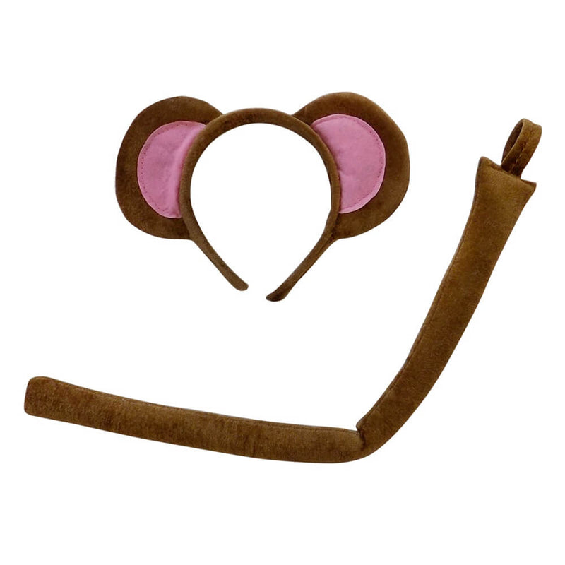 Monkey Headband, Kid or Adult Costume Accessories