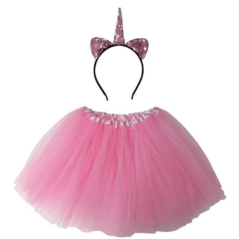 Adult, Plus, or Extra Plus Size Flip Sequin Pink Unicorn Tutu Costume - buy online, free shipping, Sydney So Sweet