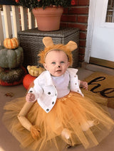 Lion Tutu Costume with Tail & Ears for Girls - buy online, free shipping, Sydney So Sweet