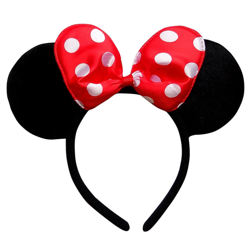 Red Polka Dot Mouse Headband Ears, Kid or Adult Costume Accessories - buy online, free shipping, Sydney So Sweet