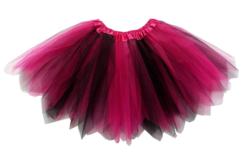 Hot Pink, Black - Fairy Costume Pixie Tutu Skirt - buy online, free shipping, Sydney So Sweet