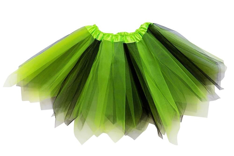 Lime, Black- Fairy Costume Pixie Tutu Skirt - buy online, free shipping, Sydney So Sweet