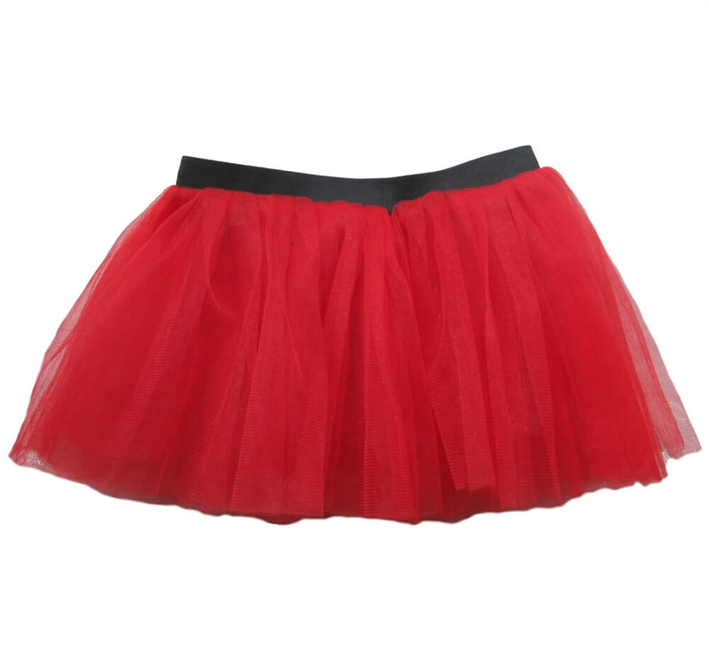 Red- Running Tutu Skirt
