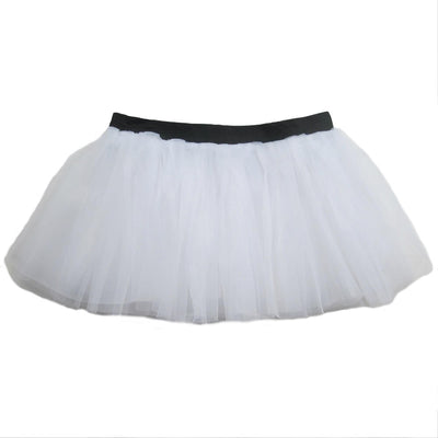 White- Running Tutu Skirt