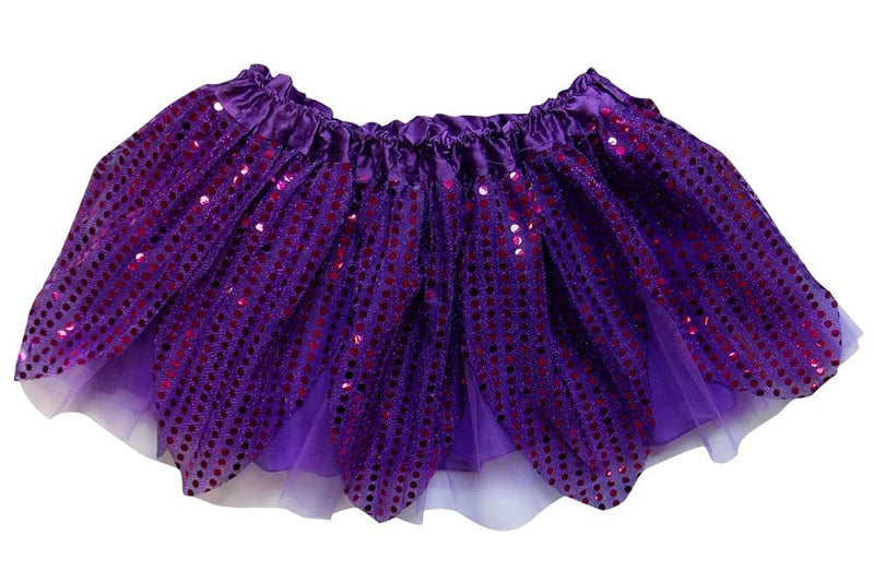 Purple - Sparkle Running Skirt or Tutu for Girls, Women, Plus