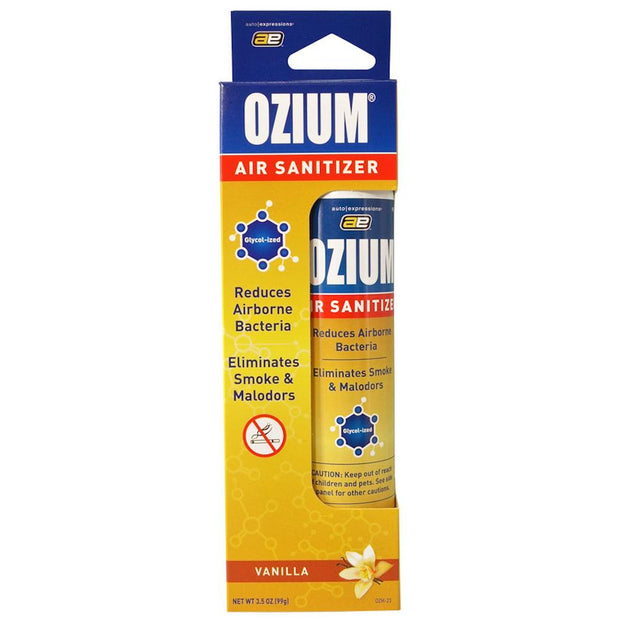 Ozium Air Sanitizer - Vanilla Scent