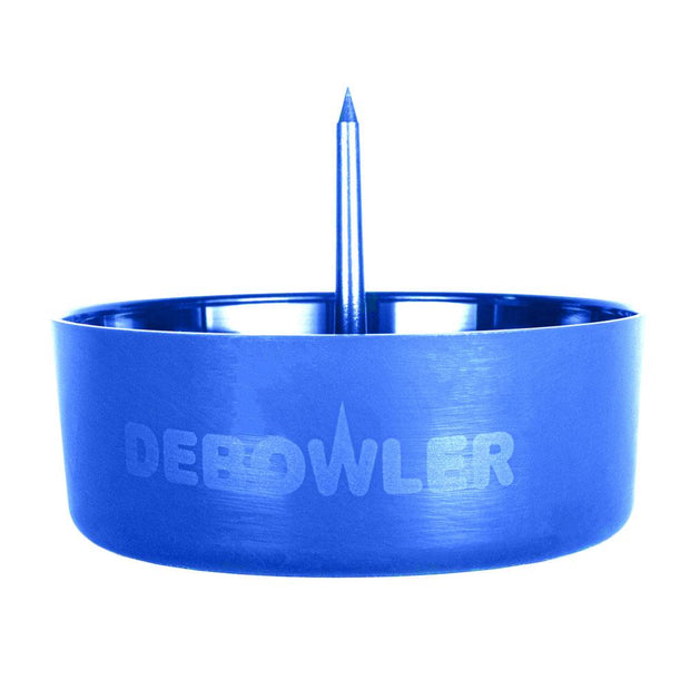 Debowler Ashtray w/ Cleaning Spike - Blue