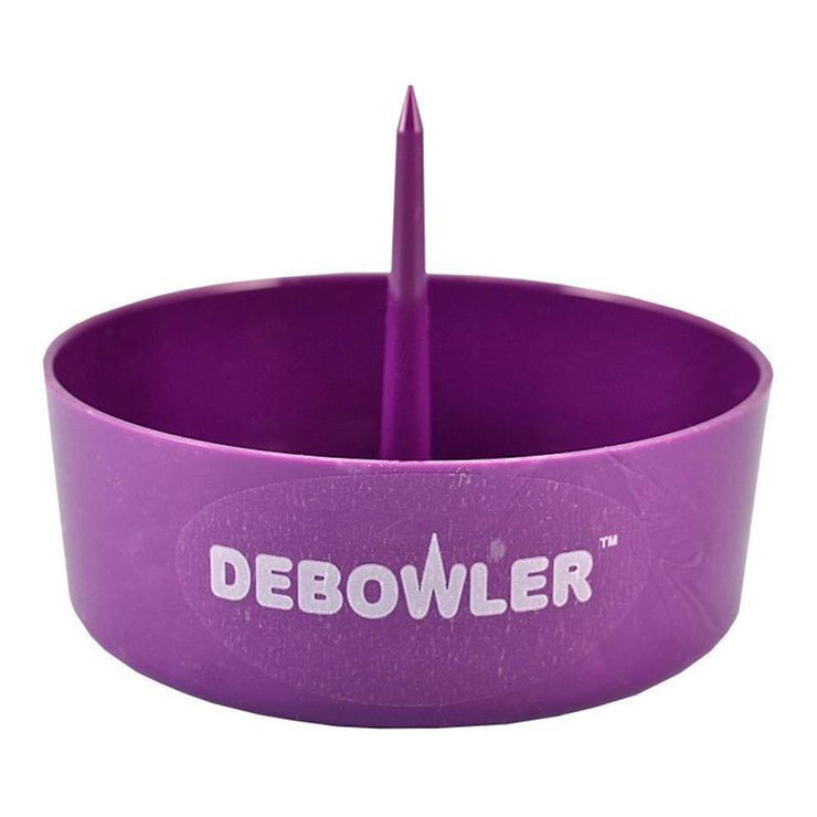 Debowler Ashtray w/ Cleaning Spike - Purple