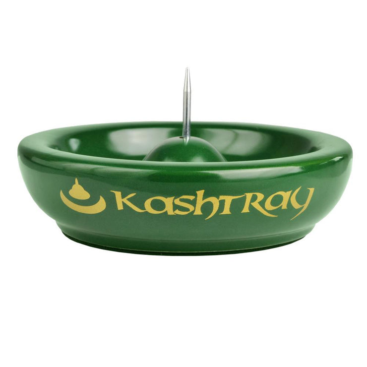 Kashtray Original w/Cleaning Spike | Green