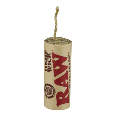 RAW Natural Hemp Wick Rolls - 20 Feet