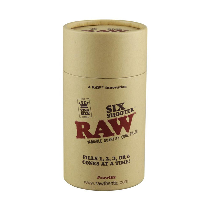 RAW Six Shooter Cone Filler | Kingsize