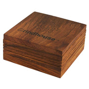 Grindhouse Wood Pollen Box w/ Magnetic Lid