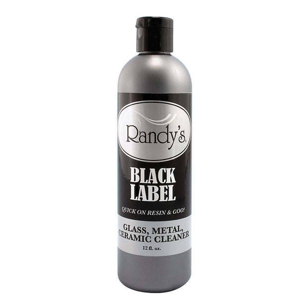 Randy's Black Label Glass, Metal & Ceramic Cleaner