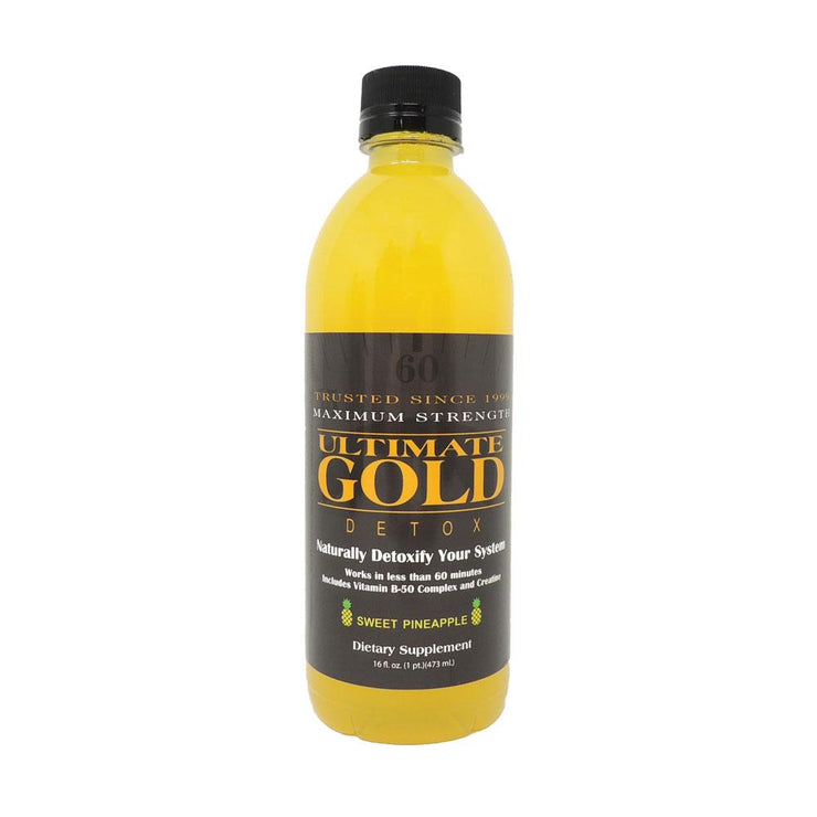Ultimate Gold Detox Drink | 16oz | Pineapple