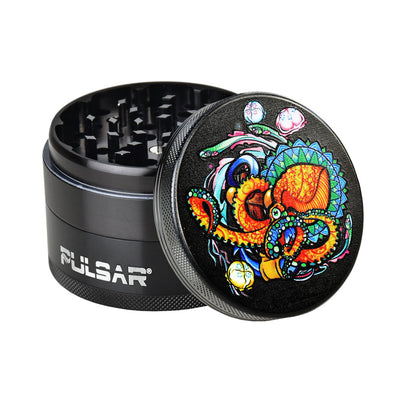 Pulsar Artist Series Grinder | Amberly Downs Psychedelic Octopus