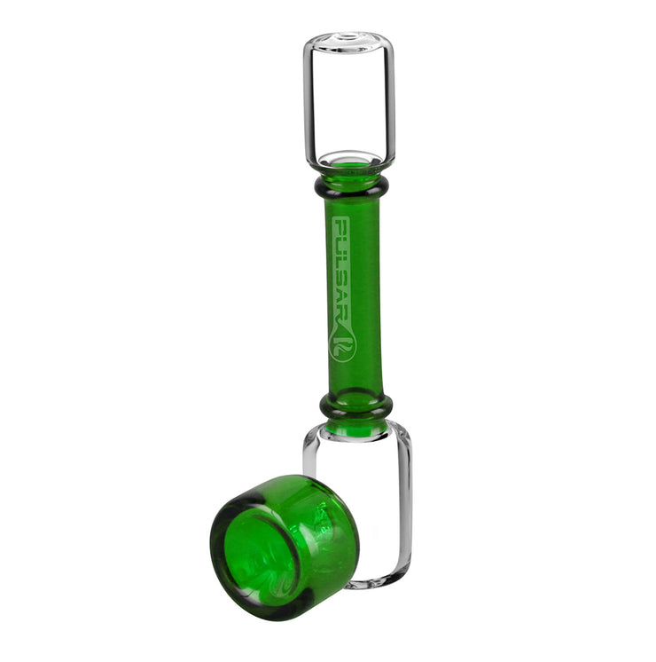 Steamroller Glass Pipe | 6 Inch | Green