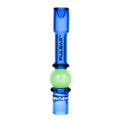 Pulsar Ball Chillum Pipe - Blue