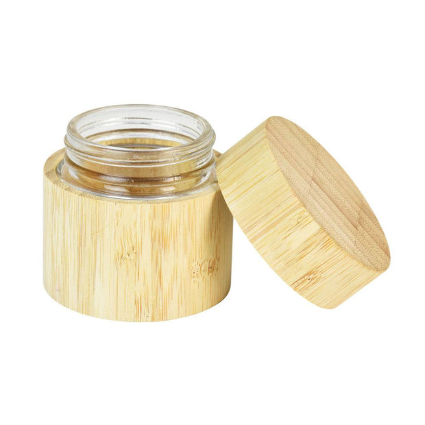 Bamboo Encased Childproof Glass Storage Jar | 60ml