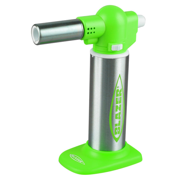 Blazer Big Buddy Torch Lighter - Green Color