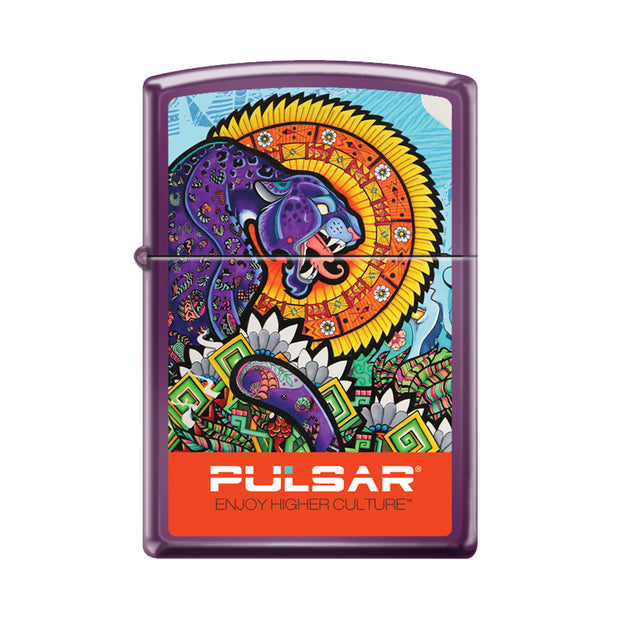 Pulsar Psychedelic Jungle Zippo Lighter