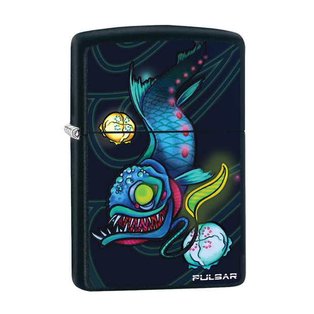 Pulsar Psychedelic Dragonfish Zippo Lighter