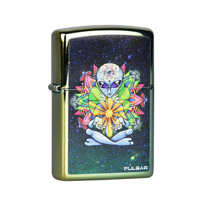 Pulsar Zippo Lighter | Amberly Downs Psychedelic Alien