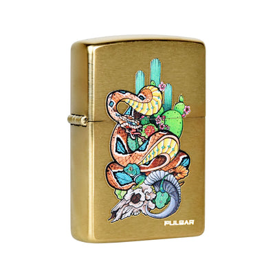 Pulsar Zippo Lighter | Amberly Downs Psychedelic Rattlesnake