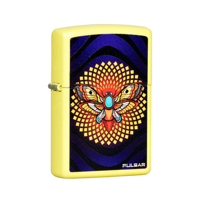 Pulsar Zippo Lighter | Amberly Downs Psychedelic Moth
