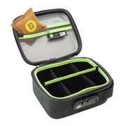 Stashlogix Silverton Lockable Stash Case | Black/Medium