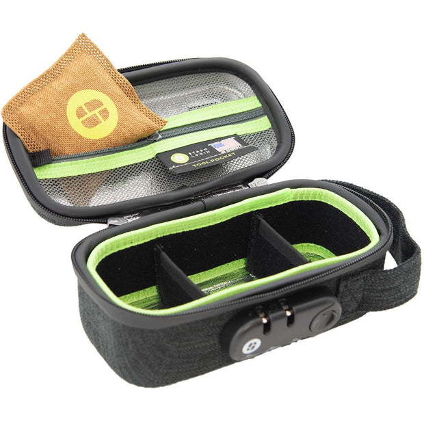Stashlogix Silverton Lockable Stash Case | Black/Small