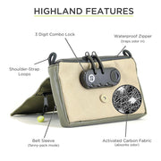 Stashlogix Highland 3.0 Lockable Stash Case