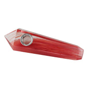 Gemstone Hand Pipe | Red Crystal