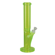 Light Bright Straight Tube Bong | Light Green