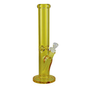 Light Bright Straight Tube Bong | Yellow