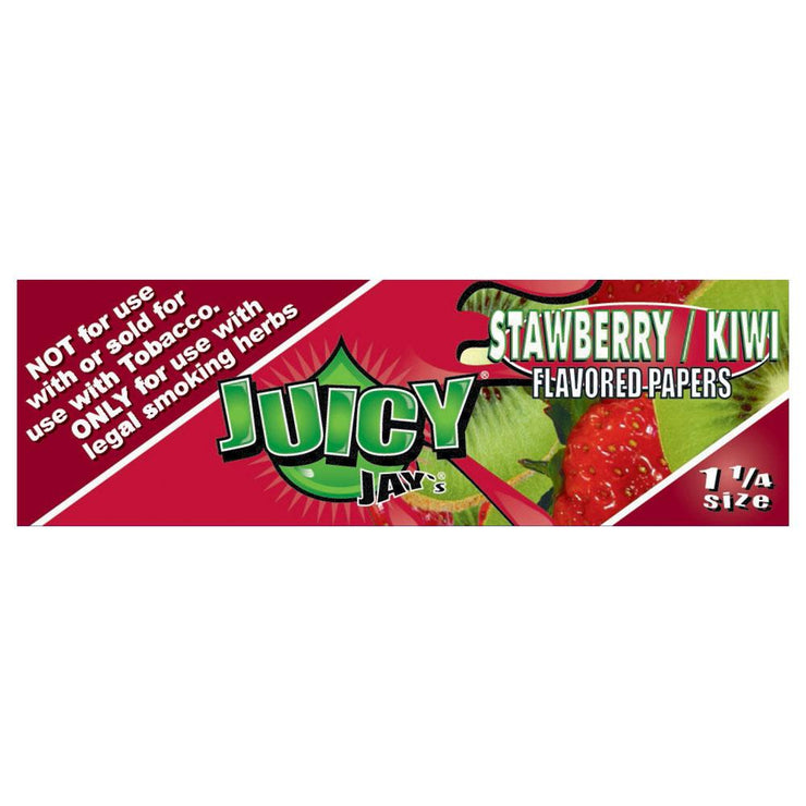 Juicy Jay's Strawberry Kiwi Flavored Rolling Papers