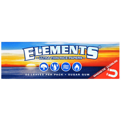 Elements Ultra Thin Rice Rolling Papers - 1 1/4 Inch