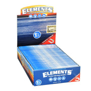 Elements Ultra Thin Rice Rolling Papers Full Box - 1 1/4 Inch
