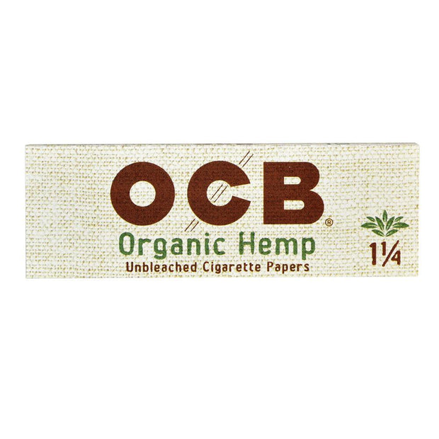 OCB Organic Hemp Rolling Papers | 1 1/4/Single