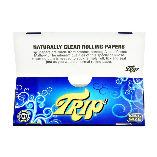 Trip 2 Clear Rolling Papers - Kingsize