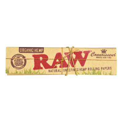RAW Organic Connoisseur Rolling Papers | Kingsize