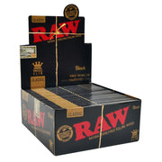 Raw Black Classic Rolling Papers | Kingsize Slim