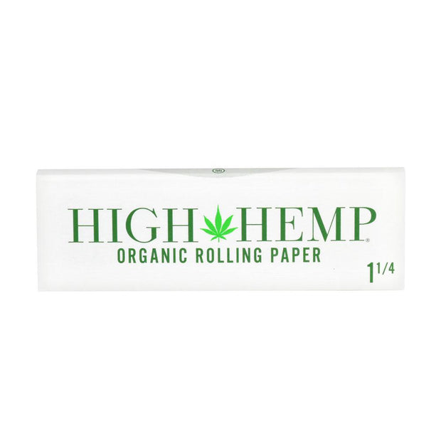 High Hemp Organic Rolling Papers | 1 1/4 Inch