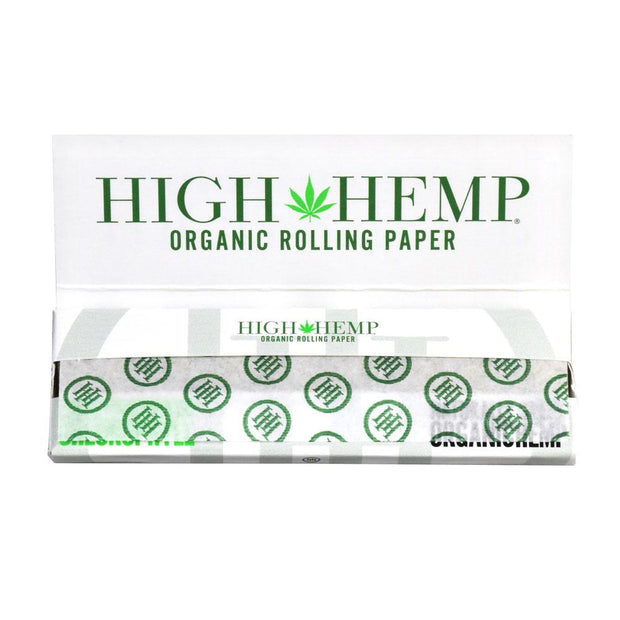 High Hemp Organic Rolling Papers | Inside View