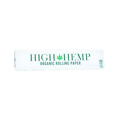 High Hemp Organic Rolling Papers | Kingsize Slim