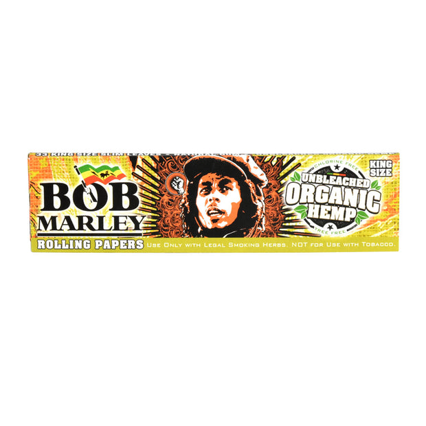 Bob Marley Rolling Papers Organic Hemp | Kingsize